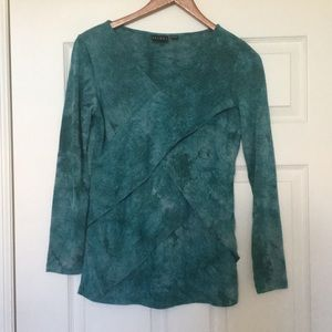 Tribal Turquoise Blouse